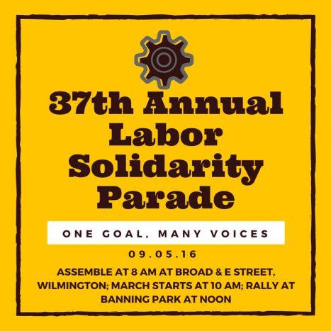 37th Annual Labor Solidarity Parade