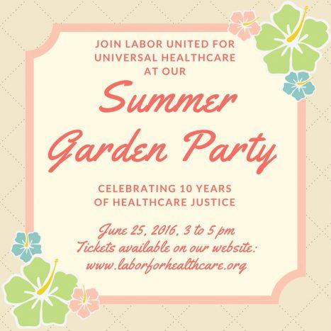 Garden Party Meme